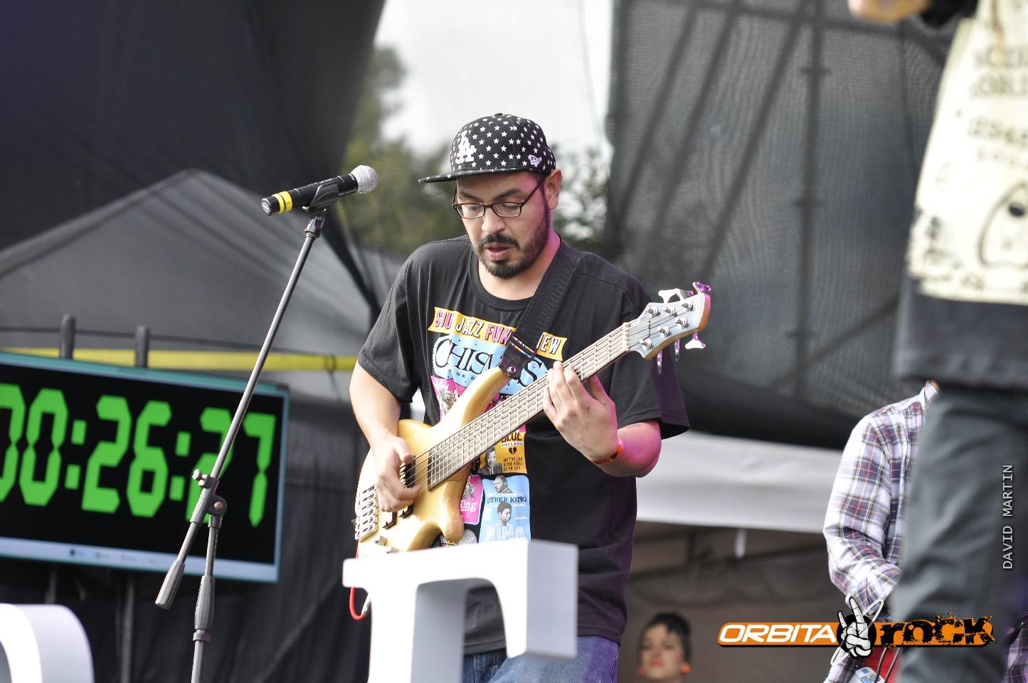 La Real Academia del Sonido en Rock al Parque 2015