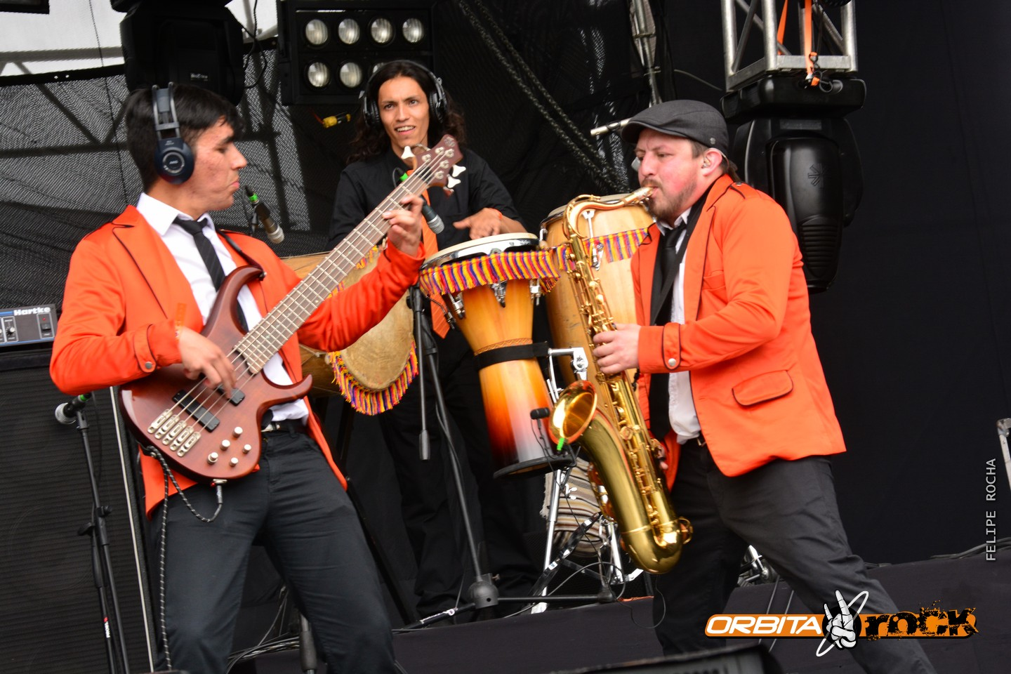 Severoreves Band en Rock al Parque 2015