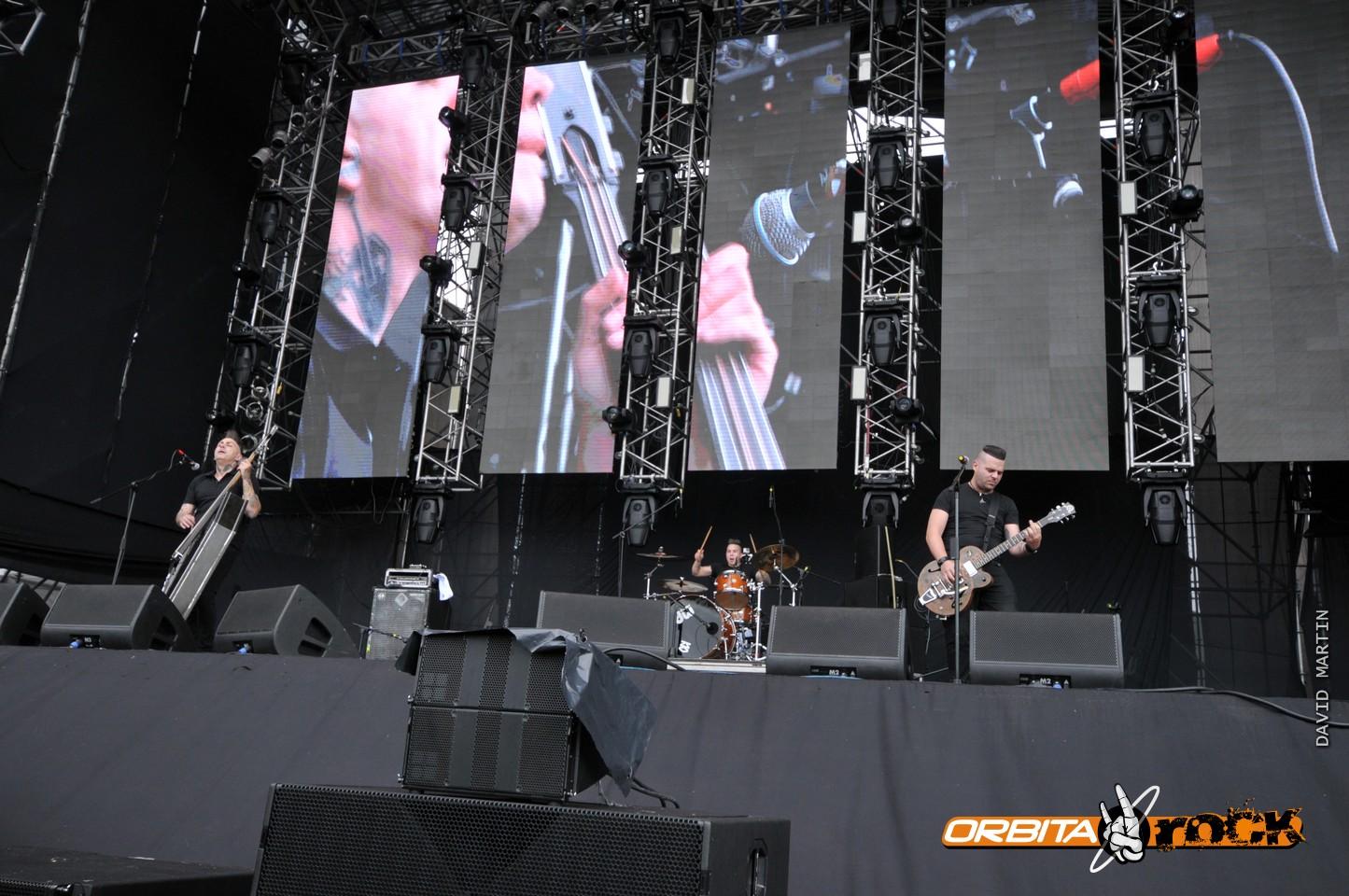 Nekromantix en Rock al Parque 2015