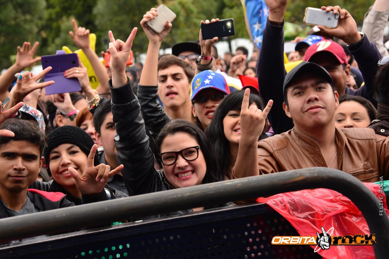 Desorden Público en Rock al Parque 2015
