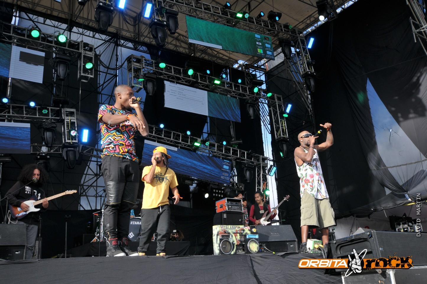 Zalama Crew en Rock al Parque 2015