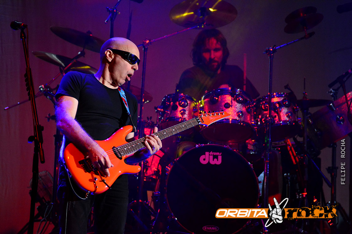 Joe Satriani en Colombia 2014