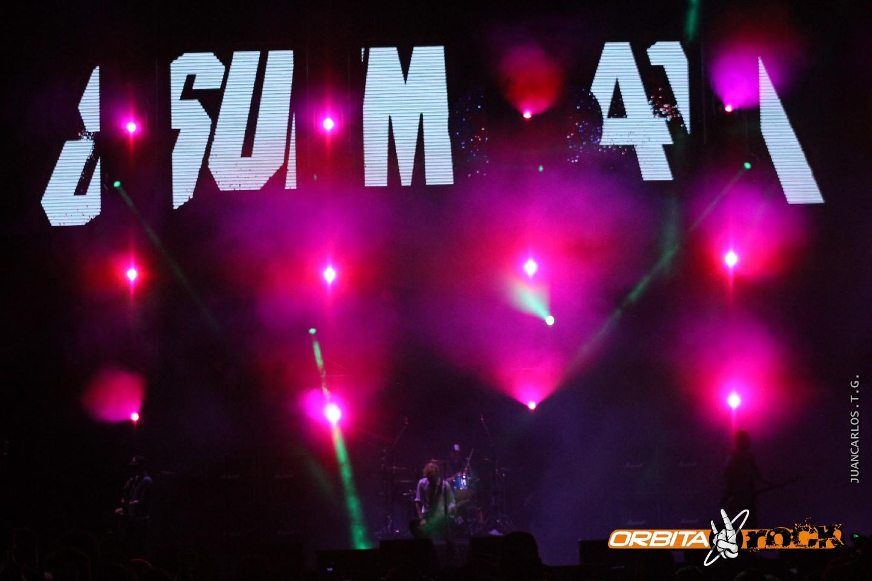 Sum 41 en Rock al Parque 2015