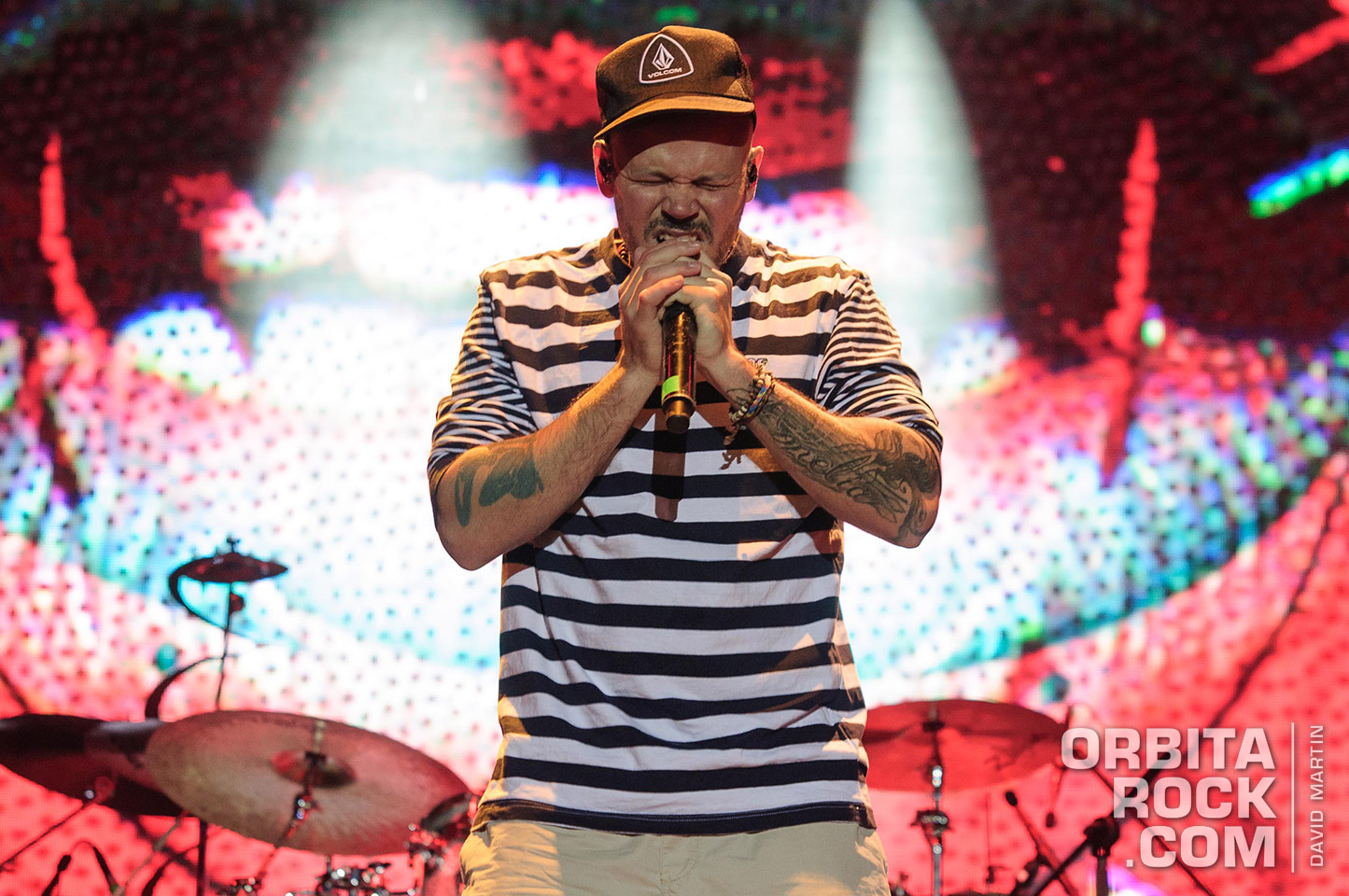 Residente en Cosquin Rock Colombia