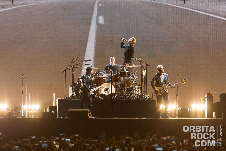 U2 en Bogotá - Fotografía por David Micolta