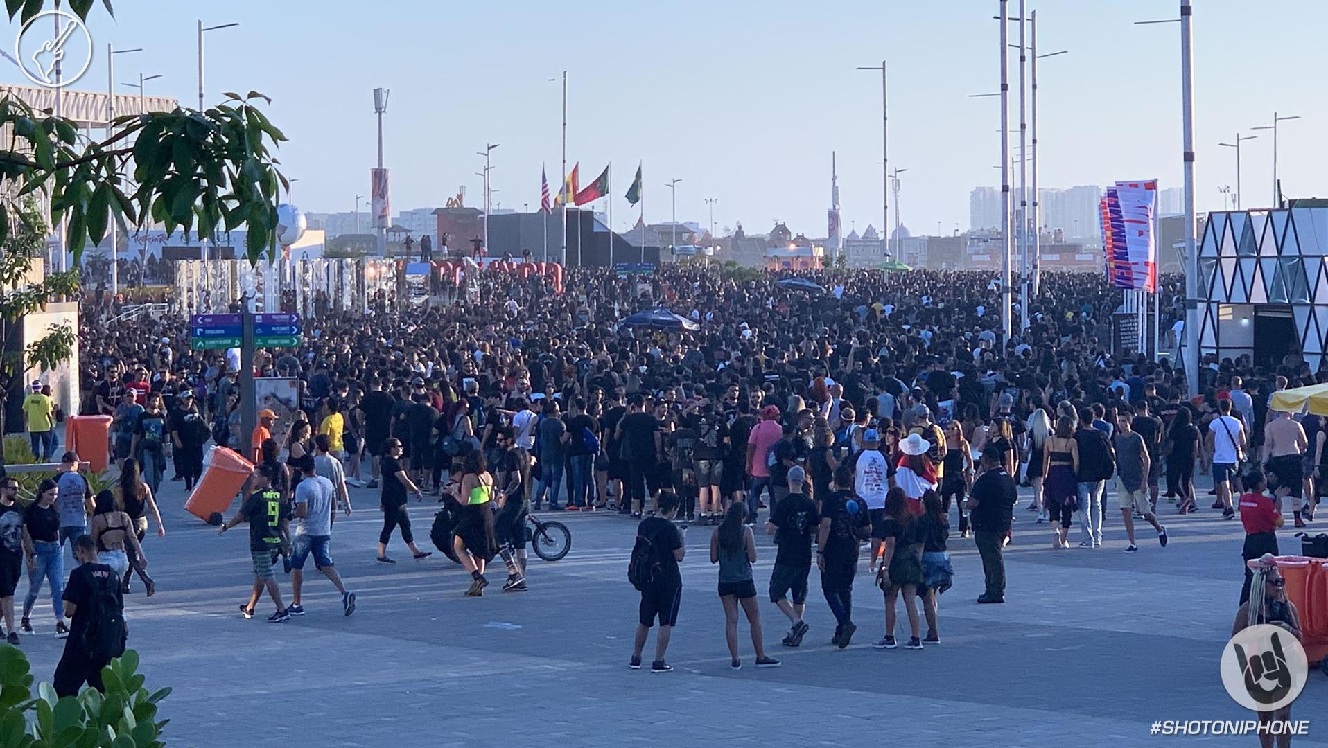 Público de Rock in Rio 2019