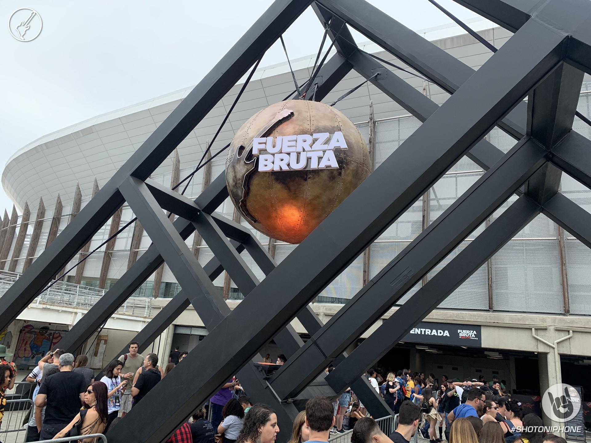 Entrada show Fuerza Bruta de Rock in Rio 2019