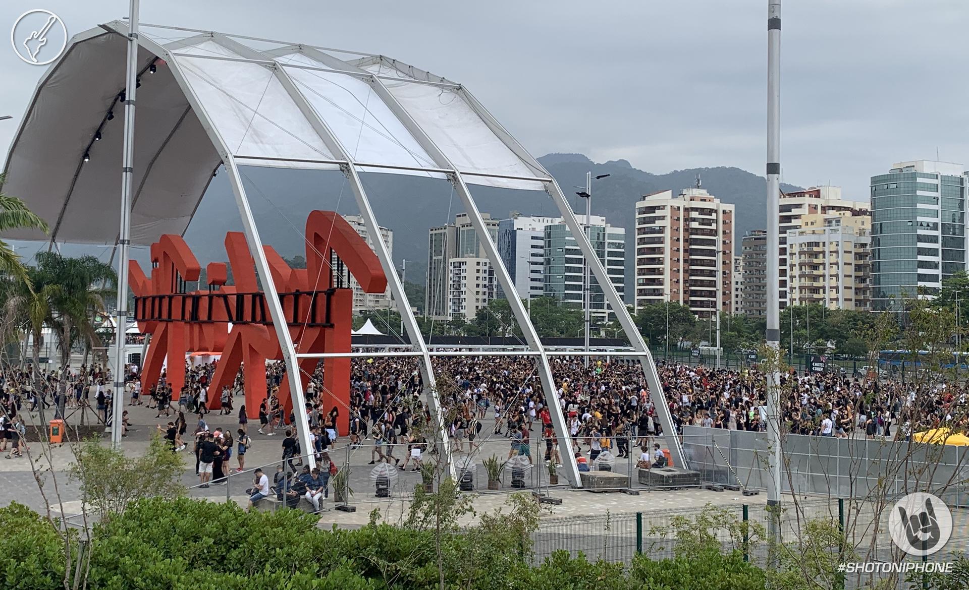 Entrada principal Rock in Rio 2019