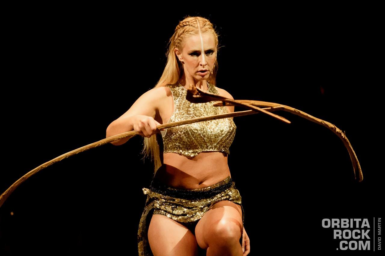 Amaluna del Cirque Du Soleil está de temporada en Bogotá. Ph. David Martin