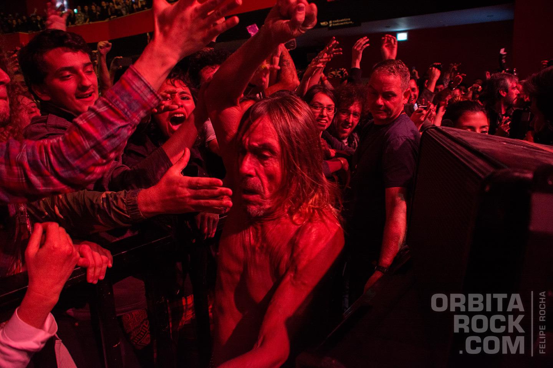 Iggy Pop por primera vez en concierto en Colombia