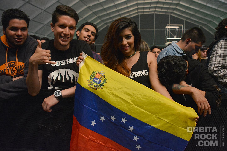 Desde Venezuela disfrutando el Rock & Shout