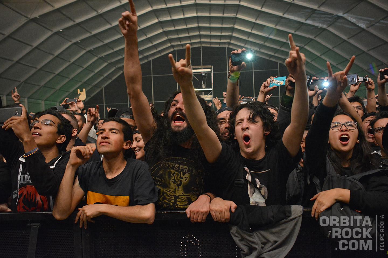 Público en Rock & Shout 2016