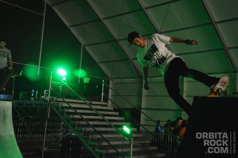 Zona skate en Rock & Shout 2016