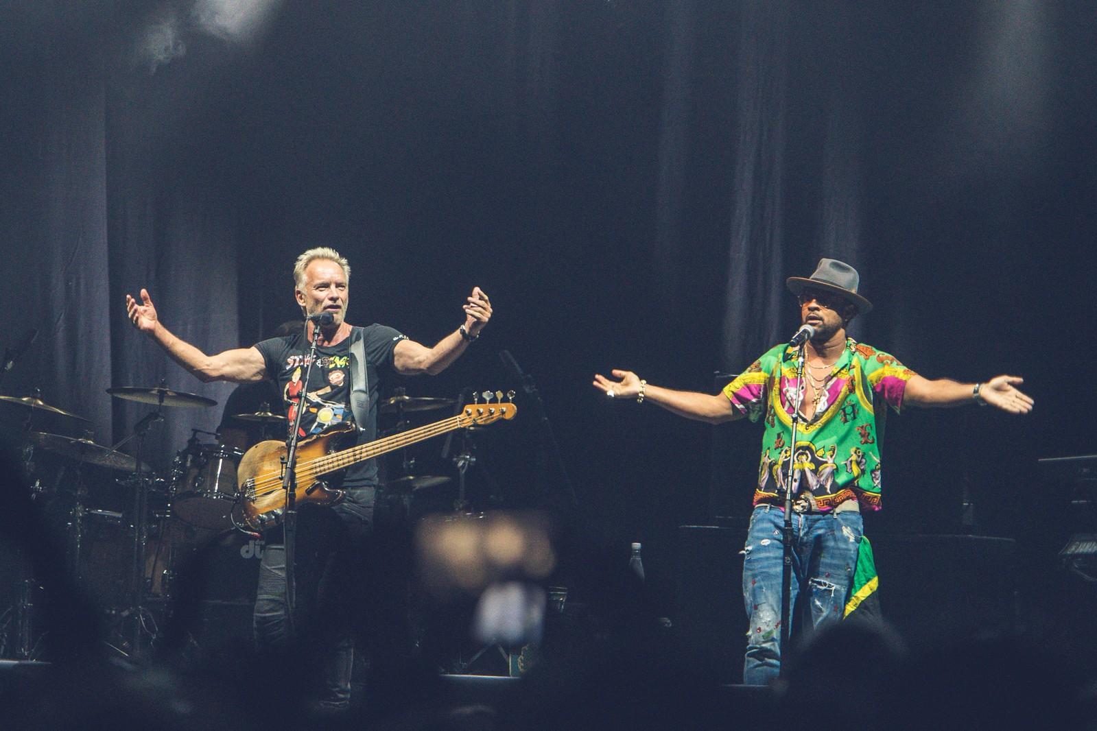 Sting y Shaggy en Bogota  - Ph. Andrés Alvarado, Páramo Presenta