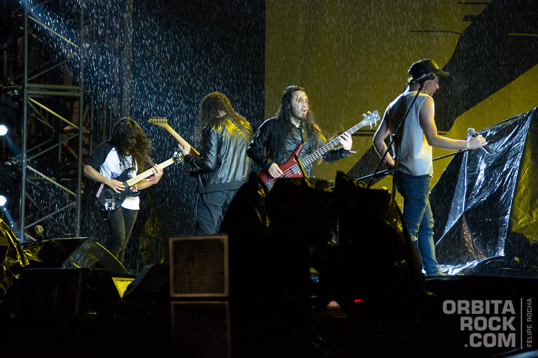 Victimazed, banda encargada de abrir el show de Metallica
