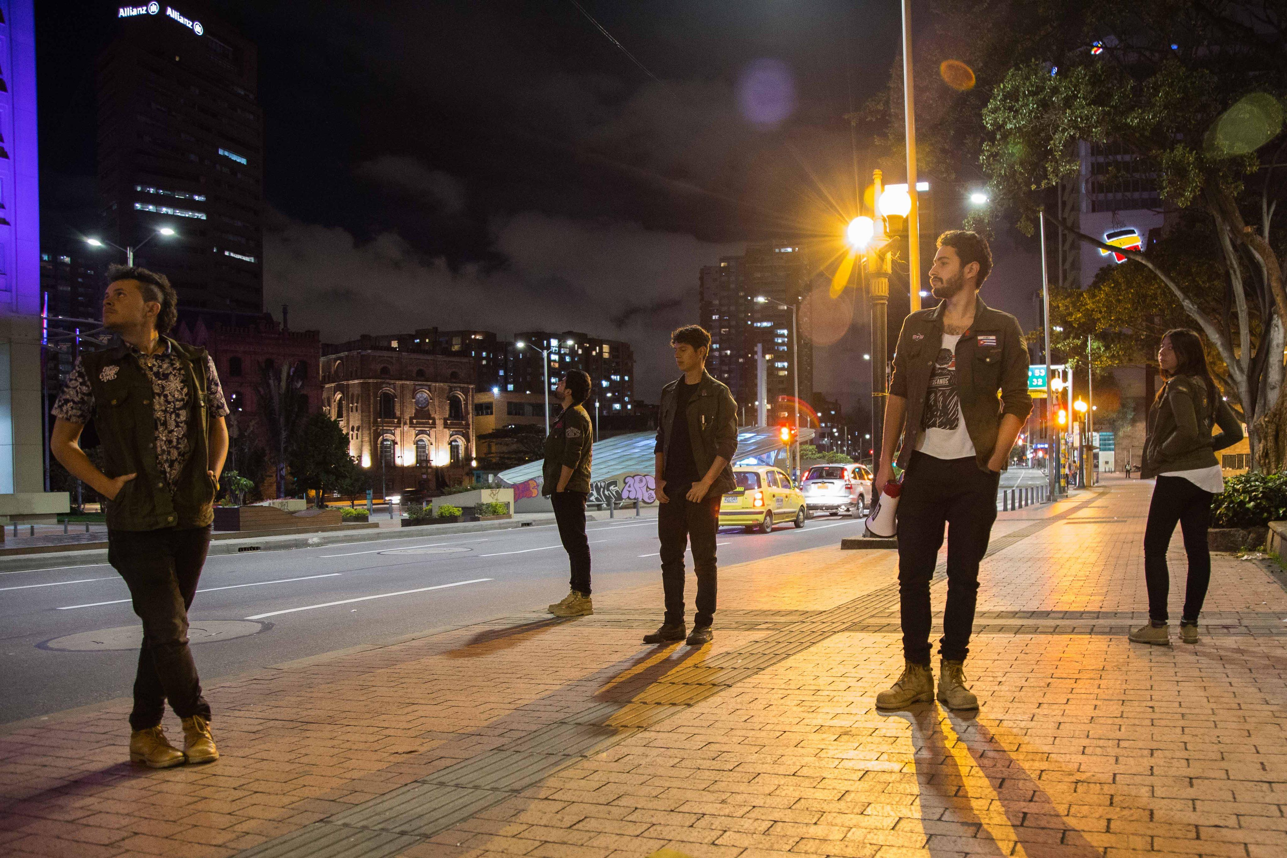 Los Huerfanos, banda de rock bogotana
