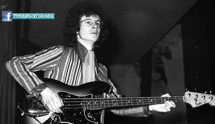 En 2003 murió Noel Redding, bajista de The Jimi Hendrix Experience.