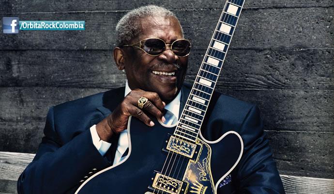 En 2015  murió el gran guitarrista de blues B. B. King.