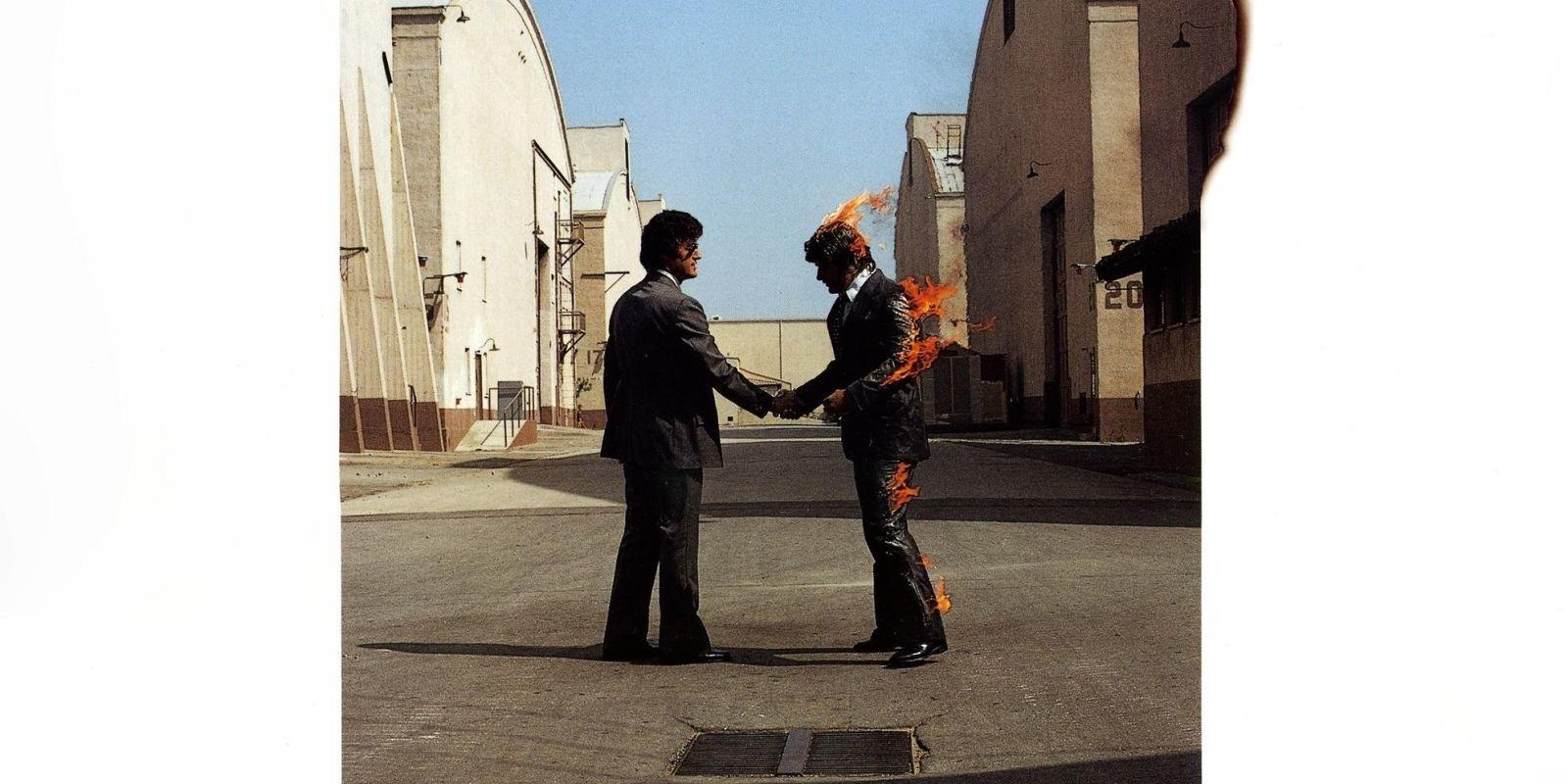 Pink Floyd foro de album Wish You Were Here