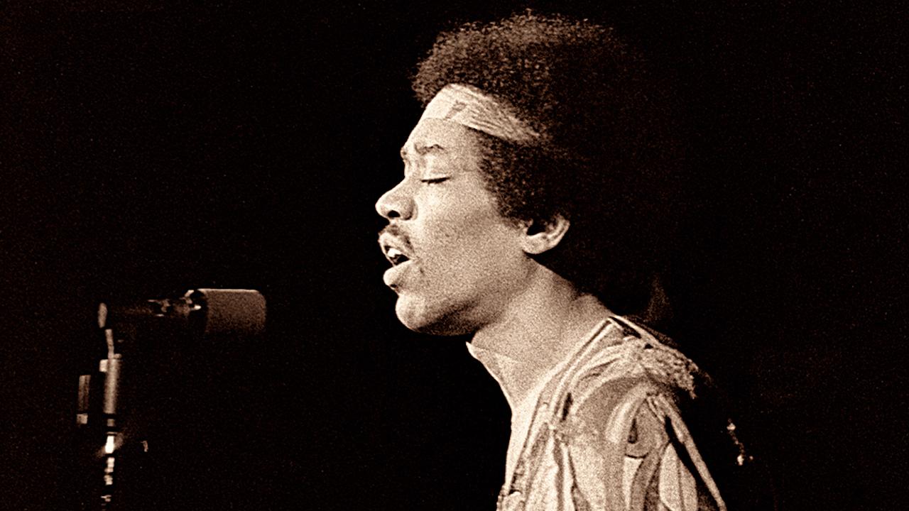 Jimi Hendrix, guitarrrista estadounidense