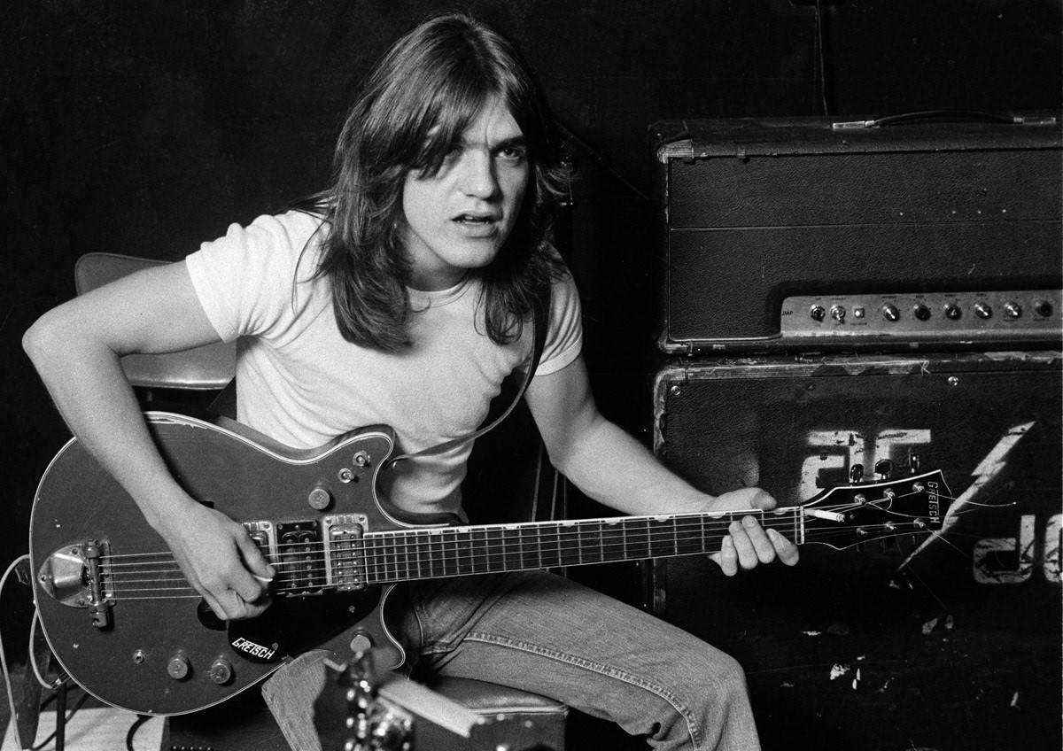 En 2017 murió Malcolm Young, guitarrista de AC/DC