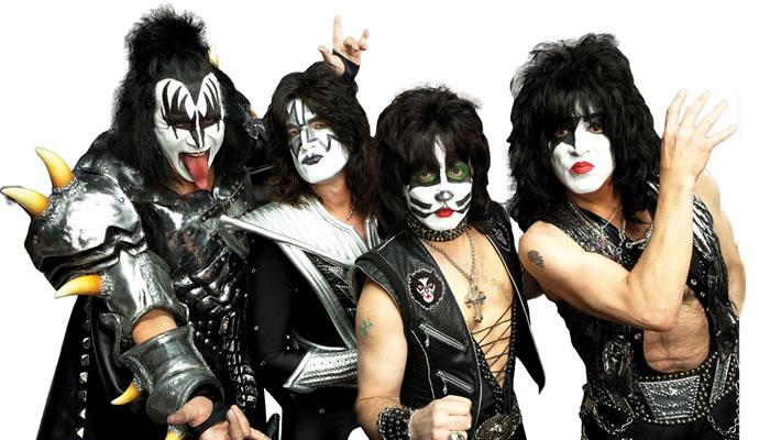 La legendaria agrupación Kiss estará en Colombia en el 2015
