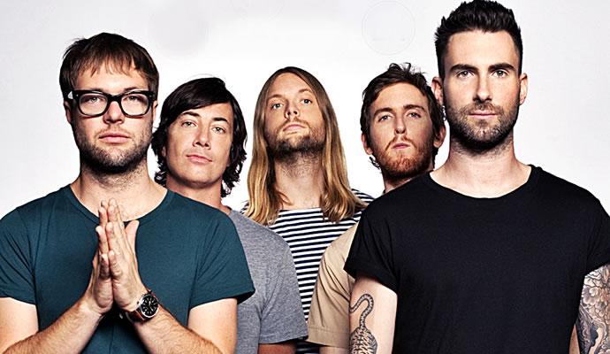 Maroon 5 se presentará en Bogotá en marzo de 2016