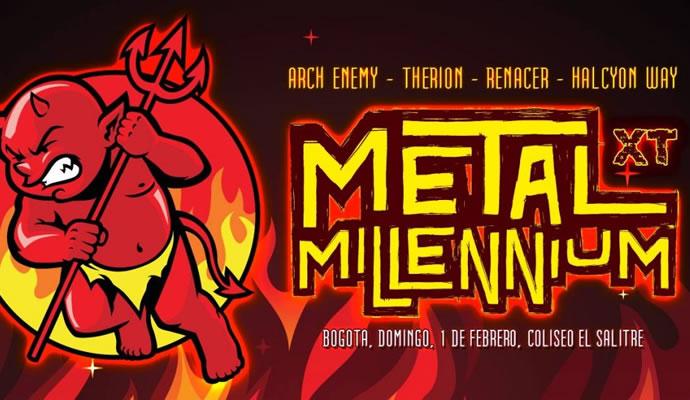 Cuatro bandas confirmadas para Metal Millennium 2015