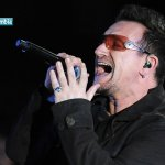 En 1960 Bono, vocalista y lider de U2.