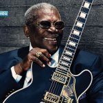 En 2015  murió el gran guitarrista de blues B. B. King.