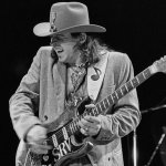 Stevie Ray Vaughan guitarrista estadounidense