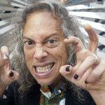 En 1962 nació Kirk Hammet de Metallica