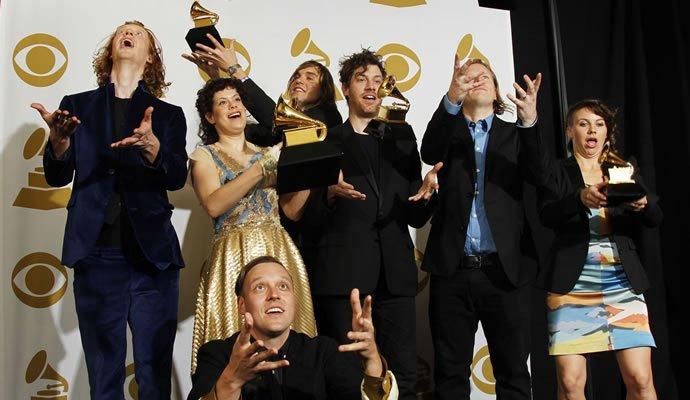 Arcade Fire, ganadores de Premios Grammy 2011