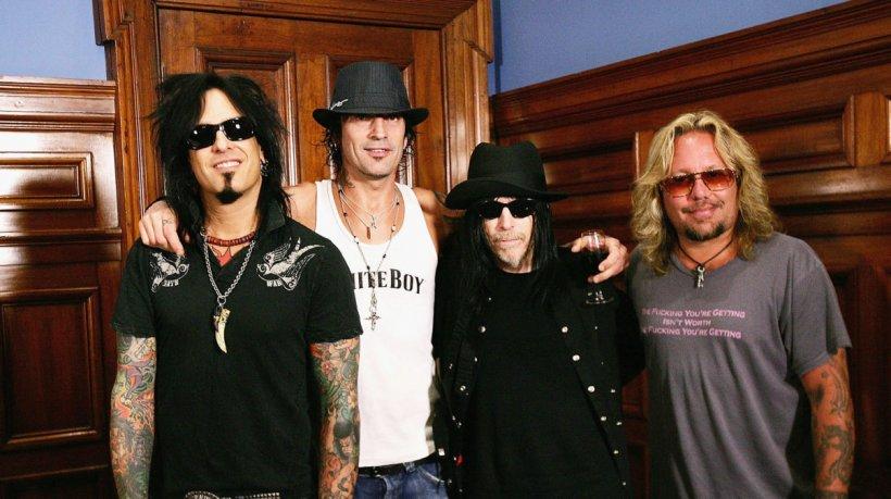 Mötley Crüe presenta el soundtrack de su película The Dirt