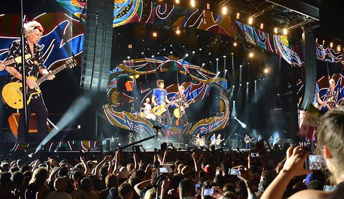 The Rolling Stones se presentaron en Cuba el pasado 25 de marzo. Foto: Felipe Rocha