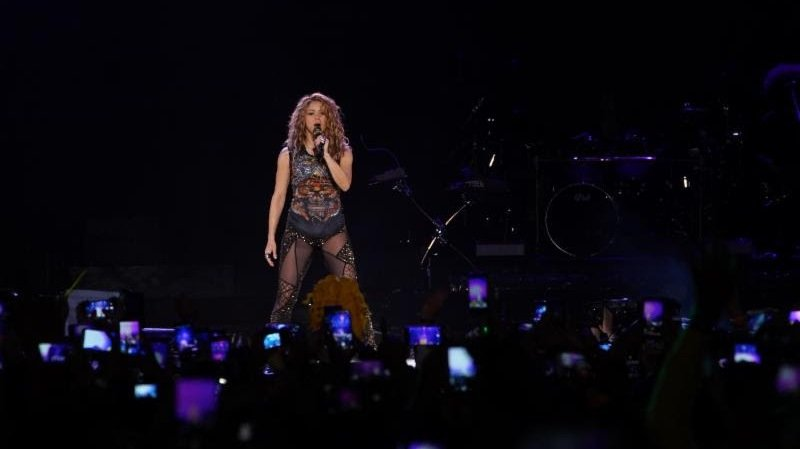 Shakira cerró su gira mundial en Bogotá