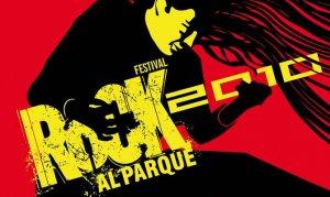 Afiche oficial Rock al Parque 2010, diseñado por Gerardo Malagón