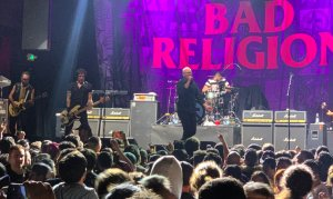 Bad Religion en su show en Bogotá