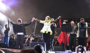 La Filarmónica de Bogotá en el cierre de Rock al Parque 2019
