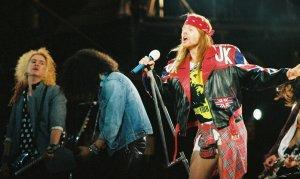 Guns N' Roses durante el Use Your Illusion Tour