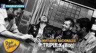 La banda bogotana Triple X se presentará en Rock al Parque 2015