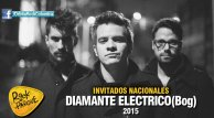 La banda bogotana Diamante Eléctrico se presentará en Rock al Parque 2015