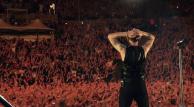 Depeche Mode durante su gira Spirits