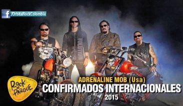 Adrenaline Mob, invitado internacional a Rock al Parque 2015