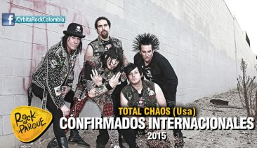 Total Chaos, invitado internacional a Rock al Parque 2015