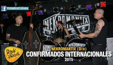 Nekromantix, invitado internacional a Rock al Parque 2015