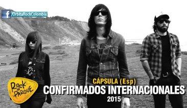 Cápsula, invitado internacional a Rock al Parque 2015