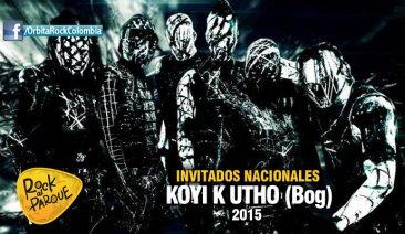 La banda bogotana Koyi h Utho se presentará en Rock al Parque 2015