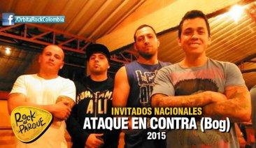 La banda bogotana Ataque en Contra se presentará en Rock al Parque 2015