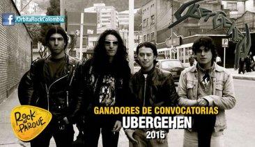 Ubergehen se presentará en Rock al Parque 2015